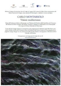 Carlo Montarsolo, Visioni Mediterranee (Mostra antologica in Montenegro, 2014, catalogo) Prime pagine del catalogo (PDF)