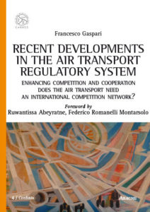 Il futuro del trasporto aeronautico (Aracne, Roma, 2017, copertina)