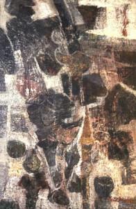 Armi antiche, olio su tela 80x120, 1963